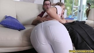 Step-bro-pounding-Avery-Adair-doggystyle-in-the-couch