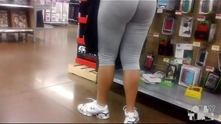 Latina-Big-Butt-Gray-Wedgie-Check-Out!