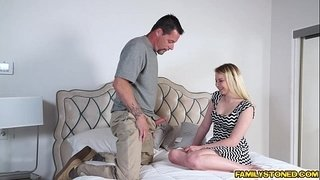 Sophie-Sativa-blowjob-her-step-dads-huge-cock
