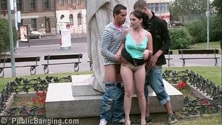 PUBLIC-street-sex-teens-GANG-BANG--by-a-famous-statue-PART-6