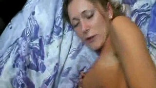 Big-tited-wife-Wake-up-Anal-sex