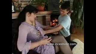 Busty-Russian-Mom-Seduces-Young-Son