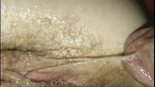 Creampie-close-up