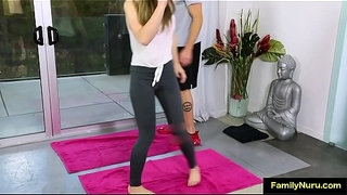 Stepdaughter-yoga-sex-with-dad