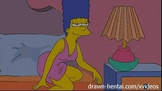Lesbian-Hentai---Lois-Griffin-and-Marge-Simpson