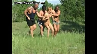 Sunbathing-girl-forced-to-have-sex-with-multiple-guys