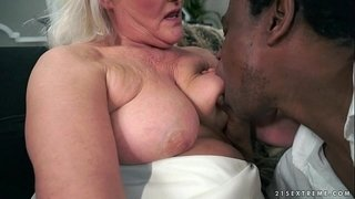 Grey-Granny-on-big-black-cock