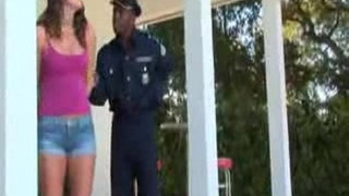 Babe-interracial-Forced-fuck-by-Police-Officer