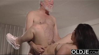 Teen-mouth-fucked-hardcore-takes-cock-deepthroat-in-old-young-pussy-fuck