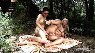 Busty-mom-take-stepson-to-the-nature-where-brutally-fuck-his-big-cock