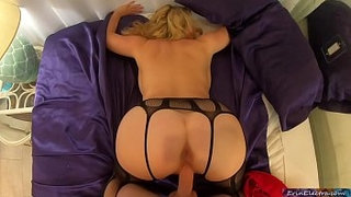 Your-stepmom-has-sex-and-tittyfucks-you-in-her-bedroom-POV---Erin-Electra