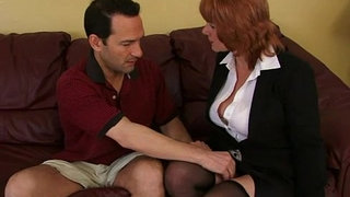 Busty-amateur-Milf-sucks-and-fucks-with-cumshot