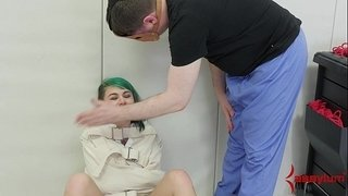Hot-emo-teen-punished,-exploited,-and-anally-fingered-by-doctor