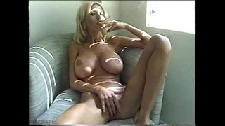 Sexy-Blonde-Milf-Smoking