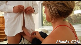 Mature-chick-sucks-and-swallows