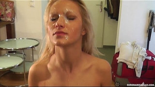 Cute-blonde-strips-and-sucks-cock-before-facial