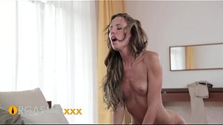 ORGASMS-Amazing-Gina-Devine-enjoying-hard-cock-orgasms-and-creampie