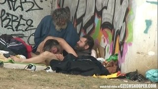 Pure-Street-Life-Homeless-Threesome-Having-Sex-on-Public