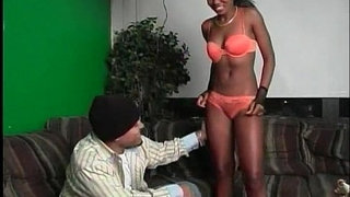 Sexy-ebony-chick-sucks-big-cock-and-gets