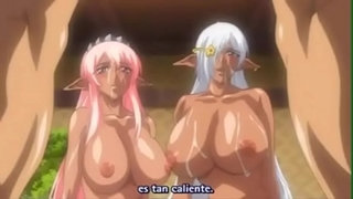 Anime-Busty-Elf-Nurse-Fucked-Hard-on-Bed