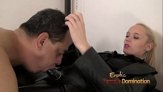 Mature-Slave-Fingered-By-Mistress-Sarah