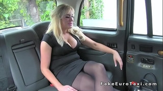Huge-tits-Milf-anal-fingered-in-fake-taxi