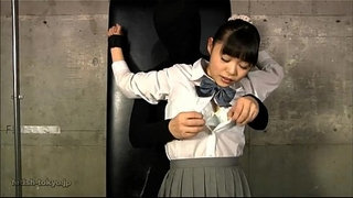 JAPANESE-SCHOOL-GIRL-OILED-&-TICKLED