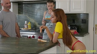 pervertfamily--naughty-stepdaughter-seduces-brother-infront-of-dad