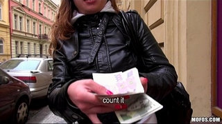 Curious-Czech-brunette-is-convinced-to-fuck-for-a-wad-of-cash