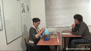 Russian-mature-teacher-5---Irina-(geography-lesson)