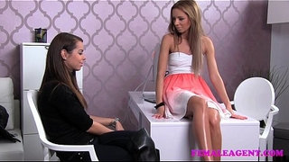 FemaleAgent-First-lesbian-experience-for-shy-gorgeous