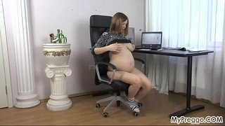Stripping-Naked-and-Fingering-Her-Wet-Pussy!