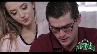 Step-Sister-Seduces-Nerdy-Brother---FamilyStroking.com