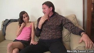 Naughty-girl-have-oral-fun-with-her-BF's-parents