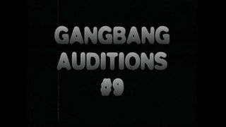 Gangbang-auditions