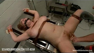Bondage-hairy-girl-gets-fucking-and-stumulation