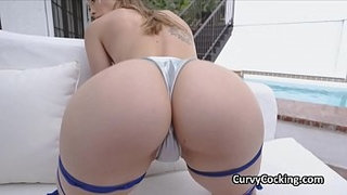 Juicy-oiled-white-ravers-booty-bouncing-on-cock