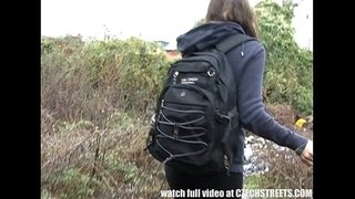 Czech-College-Girl-Outdoor-SEX-for-Cash
