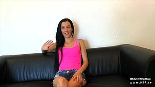 Young-smoking-french-amateur-ass-pounded-and-creamed-for-her-casting-couch