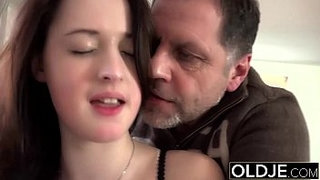 Old-Young-Amazing-BIG-TITS-girl-fucks-old-man-cums-in-her-mouth-hardcore