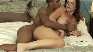 Hot-MILF-fucks-young-black-stud