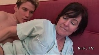 French-mom-seduces-boy-and-gives-her-ass-after-rimming