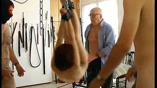 French-redhead-girl-gangbanged-and-sodomized-in-a-BDSM-action