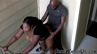 BLACK-ASS-GETS-FUCKED-OUTDOOR-!!