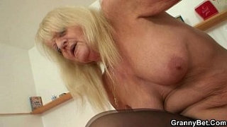 Naughty-old-grandma-in-stockings-rides-cock
