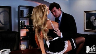 Stunning-blonde-maid-Samantha-Saint-is-fucked-by-her-boss